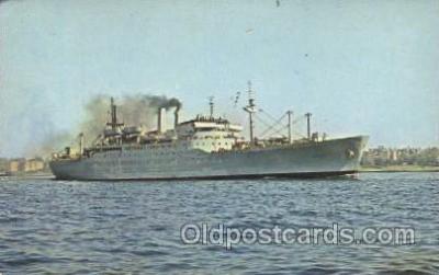 shi003381 - United States Naval Ship Upshur ( T-Ap 198) Military Ship Ships Postcard Postcards