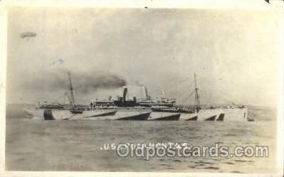 shi003382 - S.S.Pocahontas Military Ship Ships Postcard Postcards