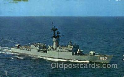 shi003397 - U.S. Francis Hammond (DE-1076) Navy, Military Ship, Ships Postcard Postcards