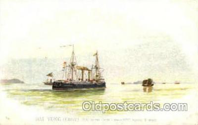 shi003405 - Hai Yung  (Chine) Navy, Military Ship, Ships Postcard Postcards