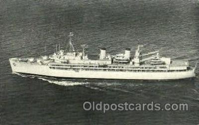 shi003414 - U.S.S. Yosemite Navy, Military Ship, Ships Postcard Postcards