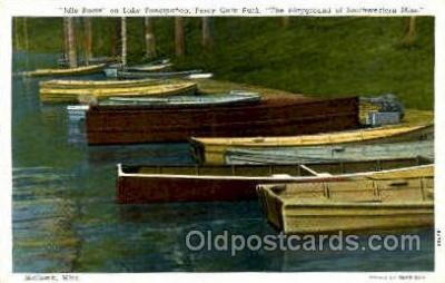 shi003416 - Idle boats, McConb, Mississippi, USA Navy, Military Ship, Ships Postcard Postcards
