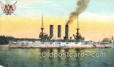 shi003520 - ship unknown Military Battleship Postcard Post Card Old Vintage Anitque