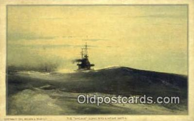 shi003620 - The Virginia Military Battleship Postcard Post Card Old Vintage Anitque