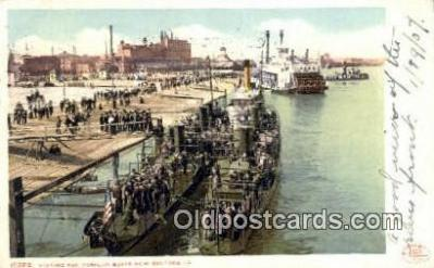 shi003684 - Torpedo Boats, New Orleans, LA Military Battleship Postcard Post Card Old Vintage Anitque