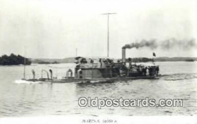 shi003785 - Marina 08088-a Gerda Military Battleship Postcard Post Card Old Vintage Antique