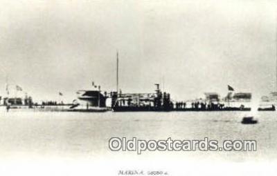shi003787 - Marina 08080-a John Ericsson Military Battleship Postcard Post Card Old Vintage Antique
