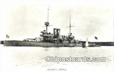 shi003798 - Marina 08099-a Niord Military Battleship Postcard Post Card Old Vintage Antique