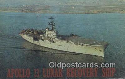 shi003820 - USS Iwo Jima LPH Military Battleship Postcard Post Card Old Vintage Antique