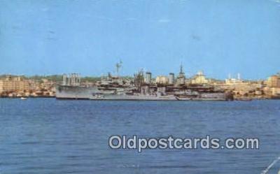 shi003834 - San Diego, California, CA USA Military Battleship Postcard Post Card Old Vintage Antique