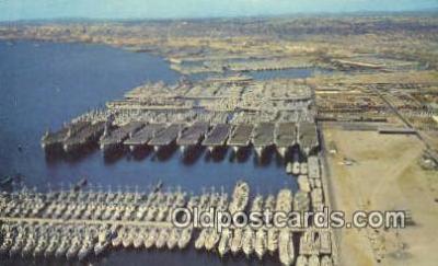 shi003835 - Ships, Us Naval Station, San Diego, California, CA USA Military Battleship Postcard Post Card Old Vintage Antique
