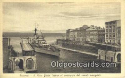 shi003855 - Garanto Military Battleship Postcard Post Card Old Vintage Antique