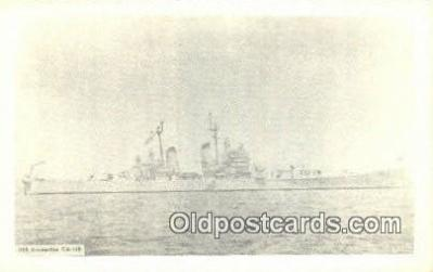 shi003863 - USS Bremerton CA 130 Military Battleship Postcard Post Card Old Vintage Antique