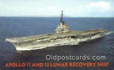 shi003891 - USS hornet, CVS-12 Air Craft Carrier Military Battleship Postcard Post Card Old Vintage Antique