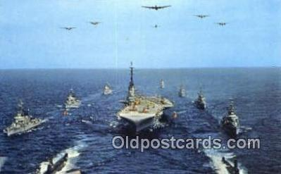 shi003893 - Task Group Alfa Military Battleship Postcard Post Card Old Vintage Antique