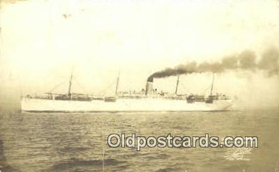 shi003900 - USAT Sheridan Military Battleship Postcard Post Card Old Vintage Antique
