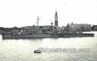 shi003902 - 807 Military Battleship Postcard Post Card Old Vintage Antique