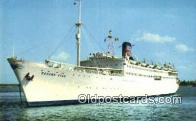 shi003908 - SS Bahama Star, Miami, Florida, FL USA Military Battleship Postcard Post Card Old Vintage Antique