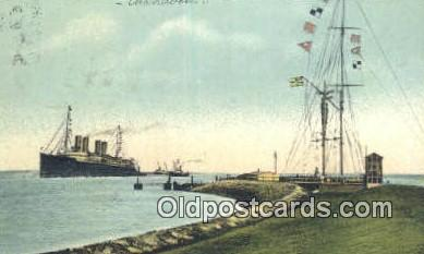 shi003915 - Nordseebad Cuxhaven Postcard Post Card Old Vintage Antique