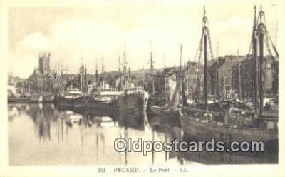 shi003917 - Fecamo Le Pont LL Postcard Post Card Old Vintage Antique