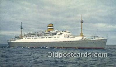 shi003940 - SS Maasdam Postcard Post Card Old Vintage Antique