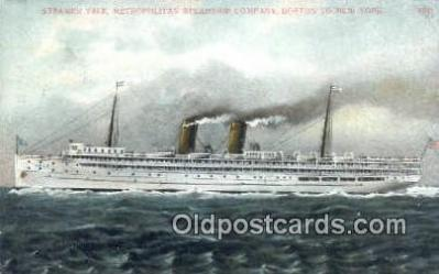 shi003956 - Steamer Yale, Boston, Massachusetts, MA USA Postcard Post Card Old Vintage Antique