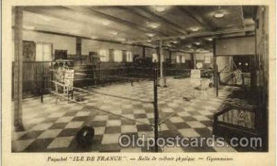 shi004028 - SS Ile de France French Line Ship Ships Postcard Postcards