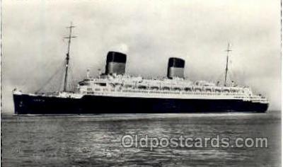 shi004054 - Liberte French Line Ship Ships Postcard Postcards