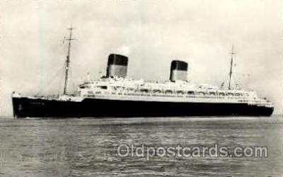 shi004059 - Liberte French Line Ship Ships Postcard Postcards
