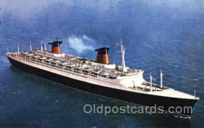 shi004088 - Le Havre French Line, Lines, Ship Ships Postcard Postcards
