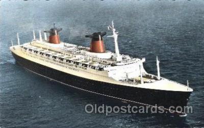 shi004089 - France French Line, Lines, Ship Ships Postcard Postcards