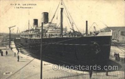 shi004095 - Le Havre French Line, Lines, Ship Ships Postcard Postcards