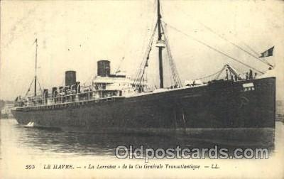 shi004096 - Le Havre French Line, Lines, Ship Ships Postcard Postcards