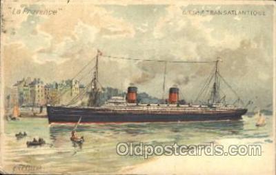 shi004098 - Le Provence French Line, Lines, Ship Ships Postcard Postcards
