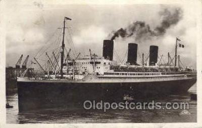 shi004113 - SS Ile De France, Le Havre Steamer, Steam Boat, Ship Ships, Postcard Postcards