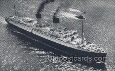 shi004120 - SS Ile De France Steamer, Steam Boat, Ship Ships, Postcard Postcards
