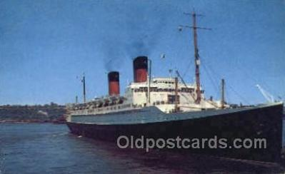 shi004156 - SS Ile De France Steamer, Steam Boat, Ship Ships, Postcard Postcards