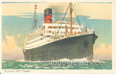 shi005014 - Scythia, Cunard White Star R.M.S. Postcard Postcards