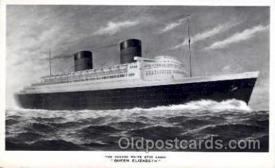 shi005024 - Queen Elizabeth Postcard postcards