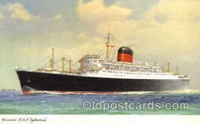 shi005046 - Sylvania - Cunard Ship Ships Postcard Postcards