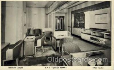 shi005069 - R.M.S. Queen Mary Cunard White Star Line Ship, Ships, Postcard Postcards
