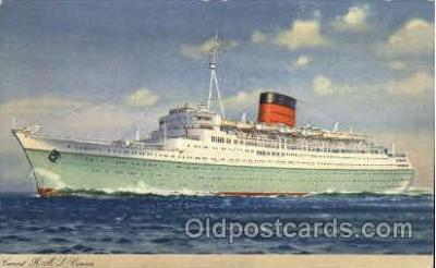 shi005078 - R.M.S. Caronia Cunard White Star Line Ship, Ships, Postcard Postcards