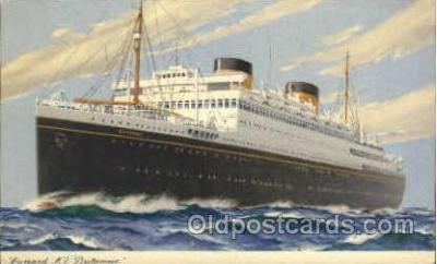 shi005089 - Britannic Cunard White Star Line Ship, Ships, Postcard Postcards