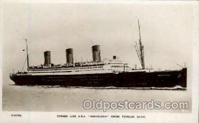 shi005133 - R.M.S. Berengaria Cunard White Star Line Ship, Ships, Postcard Postcards