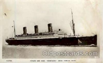 shi005136 - R.M.S. Berengaria Cunard White Star Line Ship, Ships, Postcard Postcards