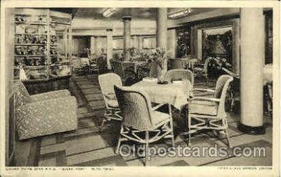 shi005141 - R.M.S. Queen Mary Cunard White Star Line Ship, Ships, Postcard Postcards