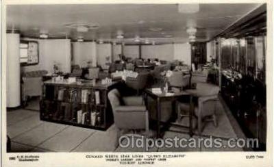 shi005145 - R.M.S. Queen Elizabeth Cunard White Star Line Ship, Ships, Postcard Postcards