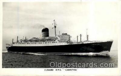 shi005155 - R.M.S. Carinthia, Cunard Line, Ship Ships Postcard Postcards