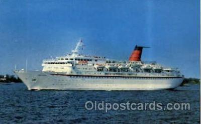 shi005158 - M.V. Cunard Princess, Cunard Line, Ship Ships Postcard Postcards