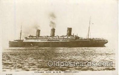shi005171 - R.M.S Berengaria Cunard Line, Ship Ships Postcard Postcards